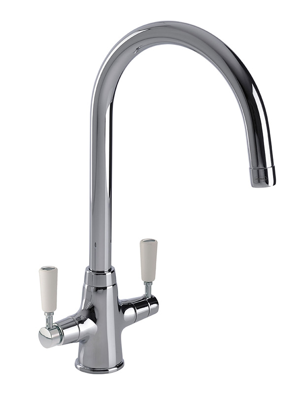 Bluci Nenbro Twin Lever Kitchen Mixer Tap