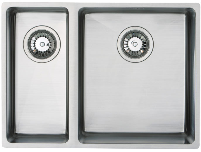 Bluci Acute 07 1.5 Bowl Stainless Steel Kitchen Sink