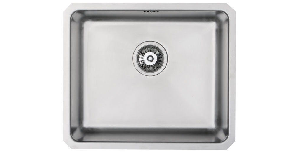 Bluci Orbit 24 Large Single Bowl Stainless Steel Kitchen Sink