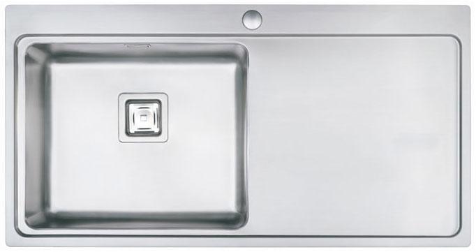 Bluci Orbit 60 Single Bowl Stainless Steel Kitchen Sink with Drainer