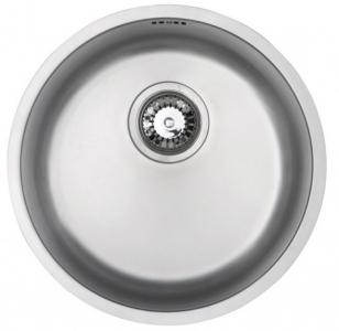 Bluci Rubus 101B Circular Inset Stainless Steel Sink