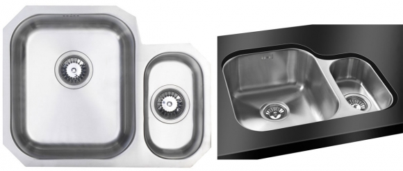 Bluci Rubus 150UH 1.5 Bowl Stainless Steel Kitchen SInk