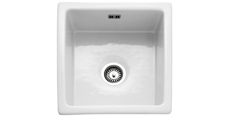 Bluci Vecchio G6 Square Bowl Ceramic Sink