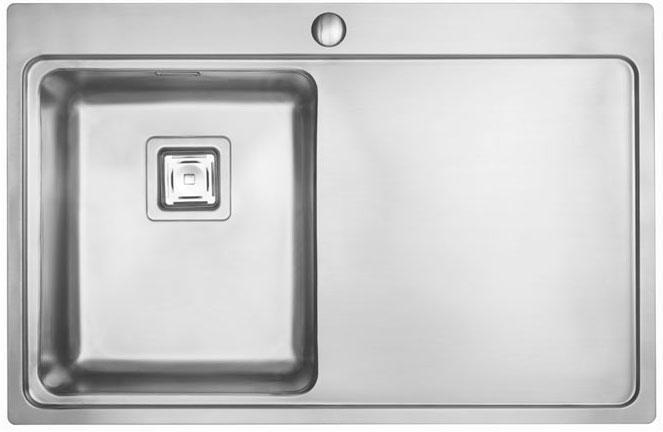 Bluci Orbit 70 Single Bowl Stainlees Steel Kitchen Sink with Drainer