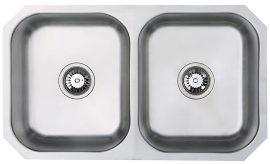 Bluci Rubus 3535U Double Bowl Stainless Steel Kitchen Sink