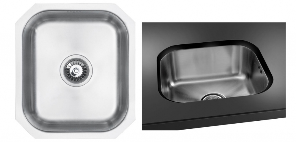 Bluci Rubus Stainlees Steel Undermount Kitchen Sink