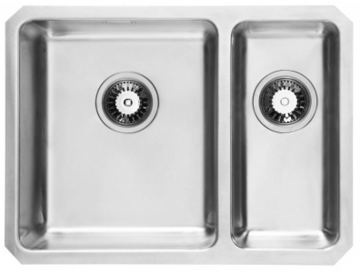 Bluci Orbit 01+ 1.5 bowl stainlees steel kitchen sink