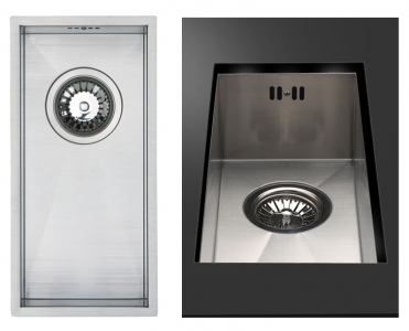 Bluci Kube18 Half bowl stainless steel kitchen sink
