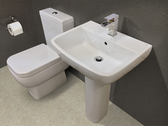 Bluci RAK Basin and WC Set