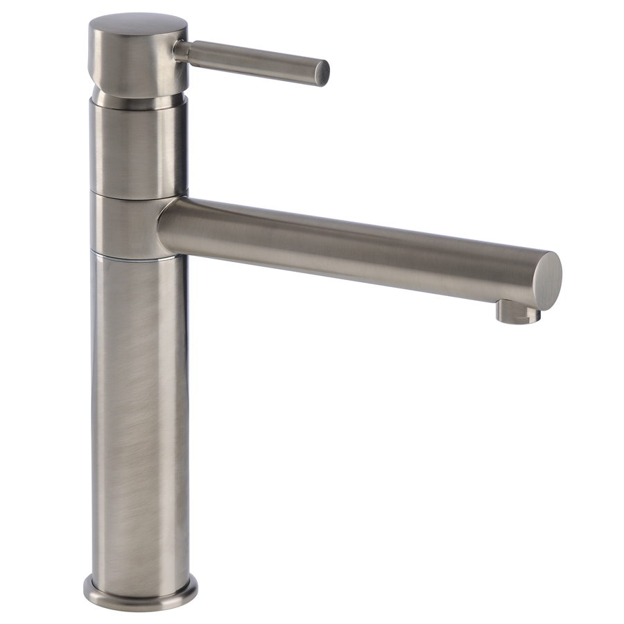 Ellero Single Lever Kitchen Tap in Brushed Nickel