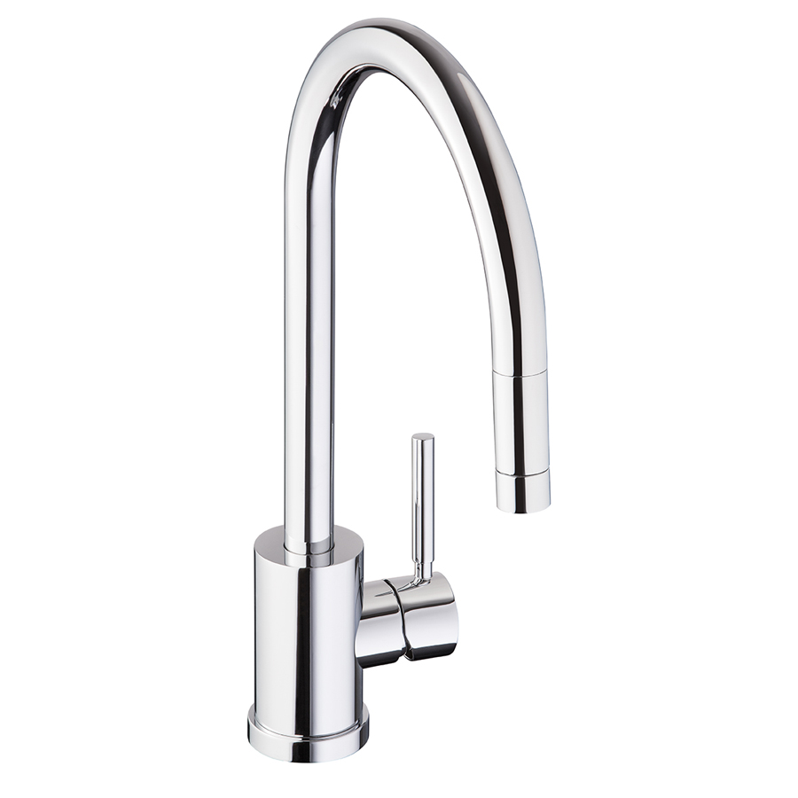 Bluci Lambro Pull Out Rinse Single Lever Kitchen Tap