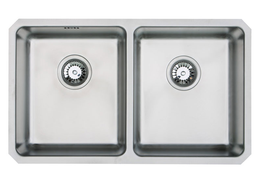 Orbit double bowl undermount sink